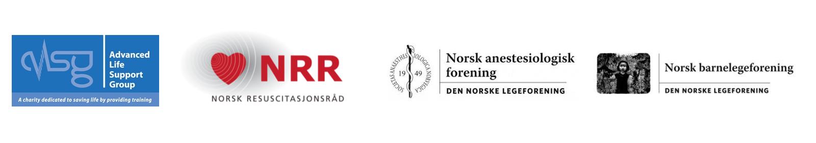 Logo med samarbeidspartnere APLS Norge